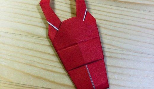 """簡単折り紙『クワガタ2』の折り方 How to fold origami """"Stag beetle2"""""""