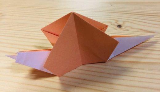 """簡単折り紙『かたつむり3』の折り方 How to fold origami """"Snail3"""""""